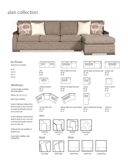 Picture of ALAN SECTIONAL